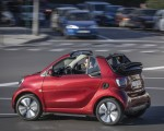 2020 Smart EQ ForTwo Cabrio Prime Line (Color: Carmine Red) Side Wallpapers 150x120 (7)