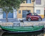 2020 Smart EQ ForTwo Cabrio Prime Line (Color: Carmine Red) Side Wallpapers 150x120 (31)