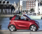 2020 Smart EQ ForTwo Cabrio Prime Line (Color: Carmine Red) Side Wallpapers 150x120 (20)