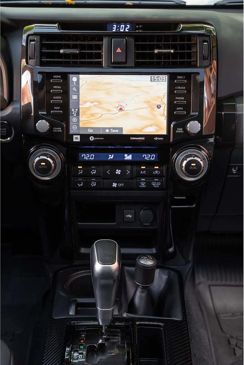 2020 Toyota 4Runner TRD Pro Central Console Wallpapers (13)