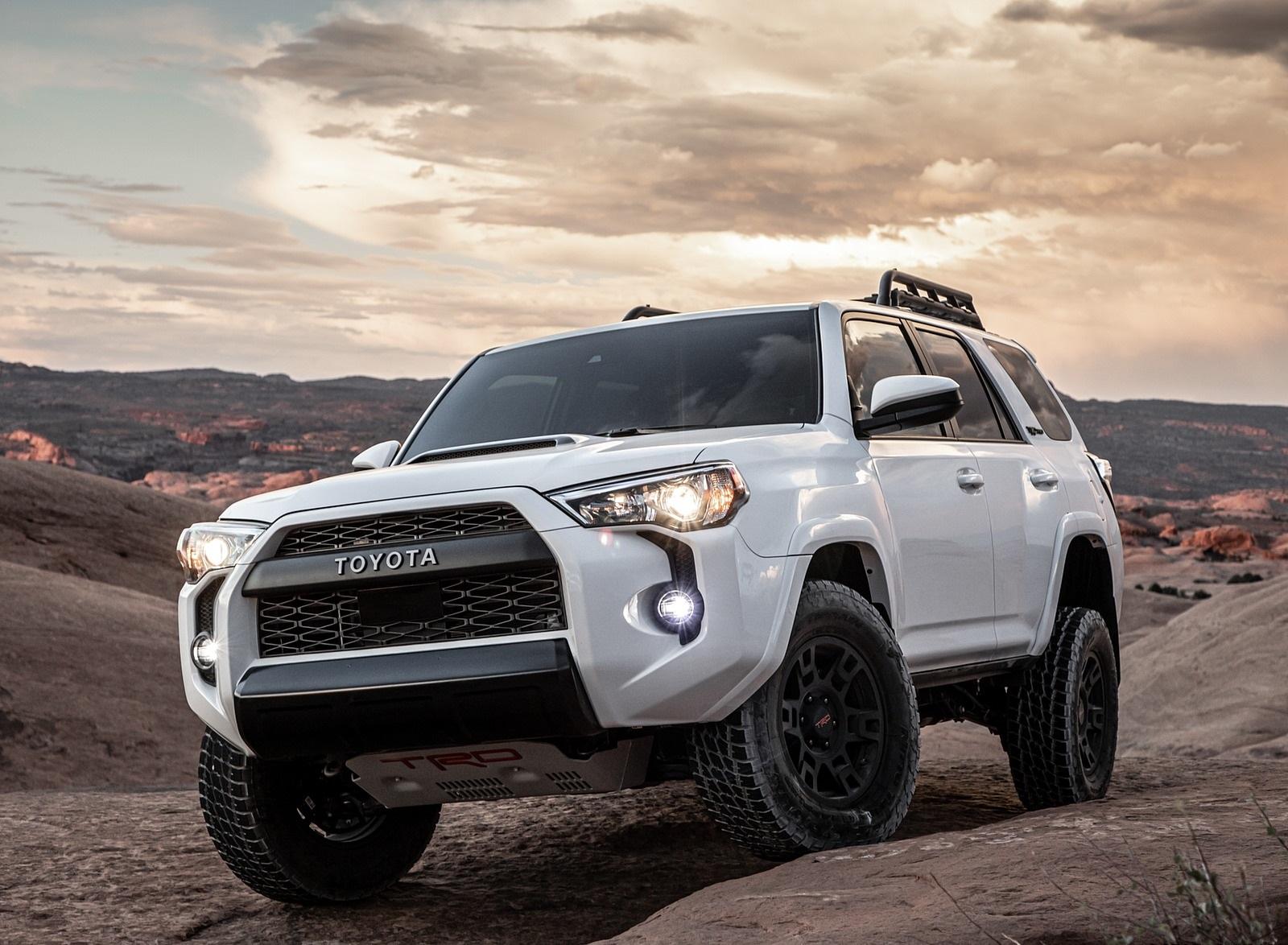 2020 Toyota 4Runner TRD Pro Front Three-Quarter Wallpapers (3)