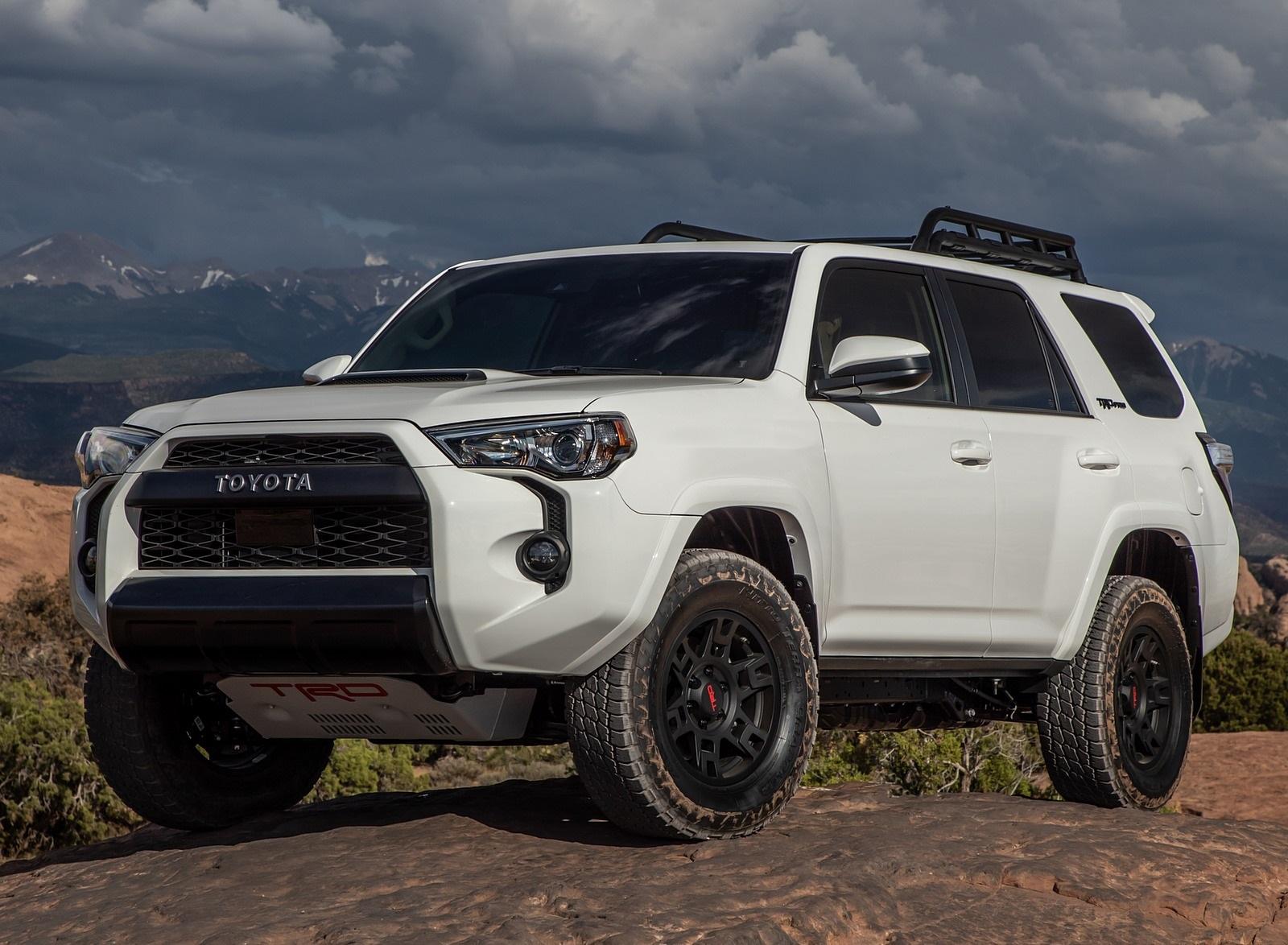 2020 Toyota 4Runner TRD Pro Front Three-Quarter Wallpapers (8)