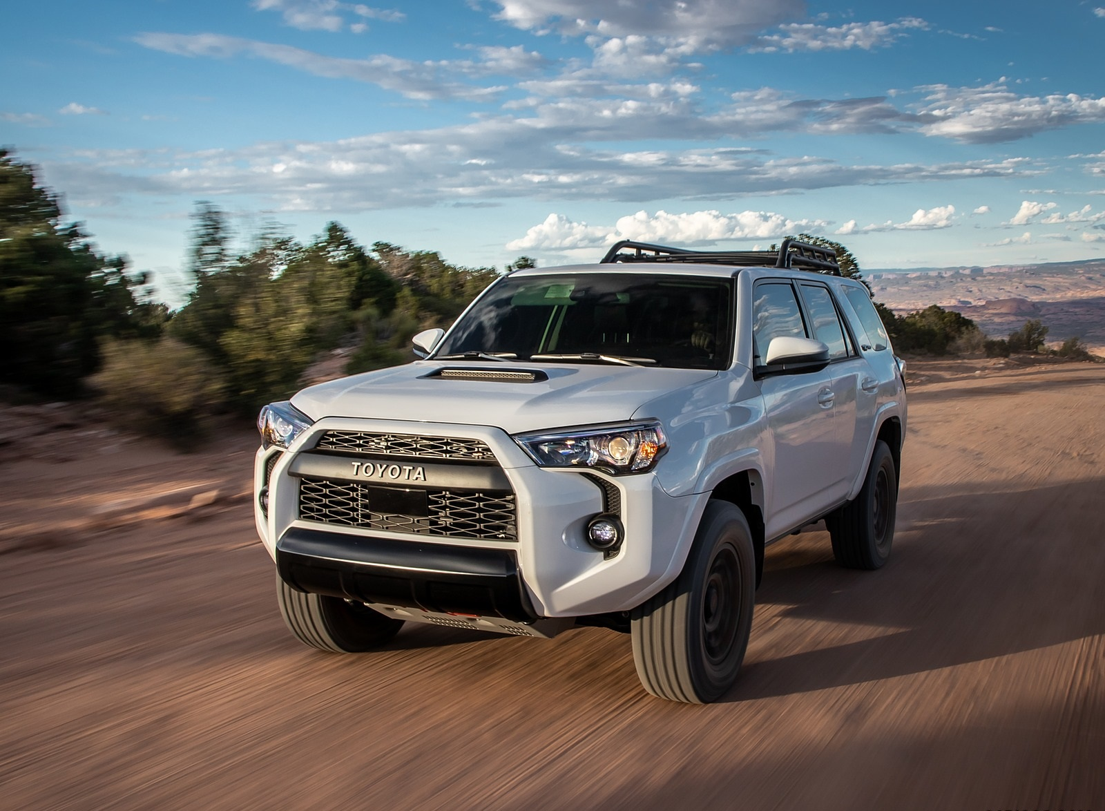 2020 Toyota 4Runner TRD Pro Front Three-Quarter Wallpapers (1)