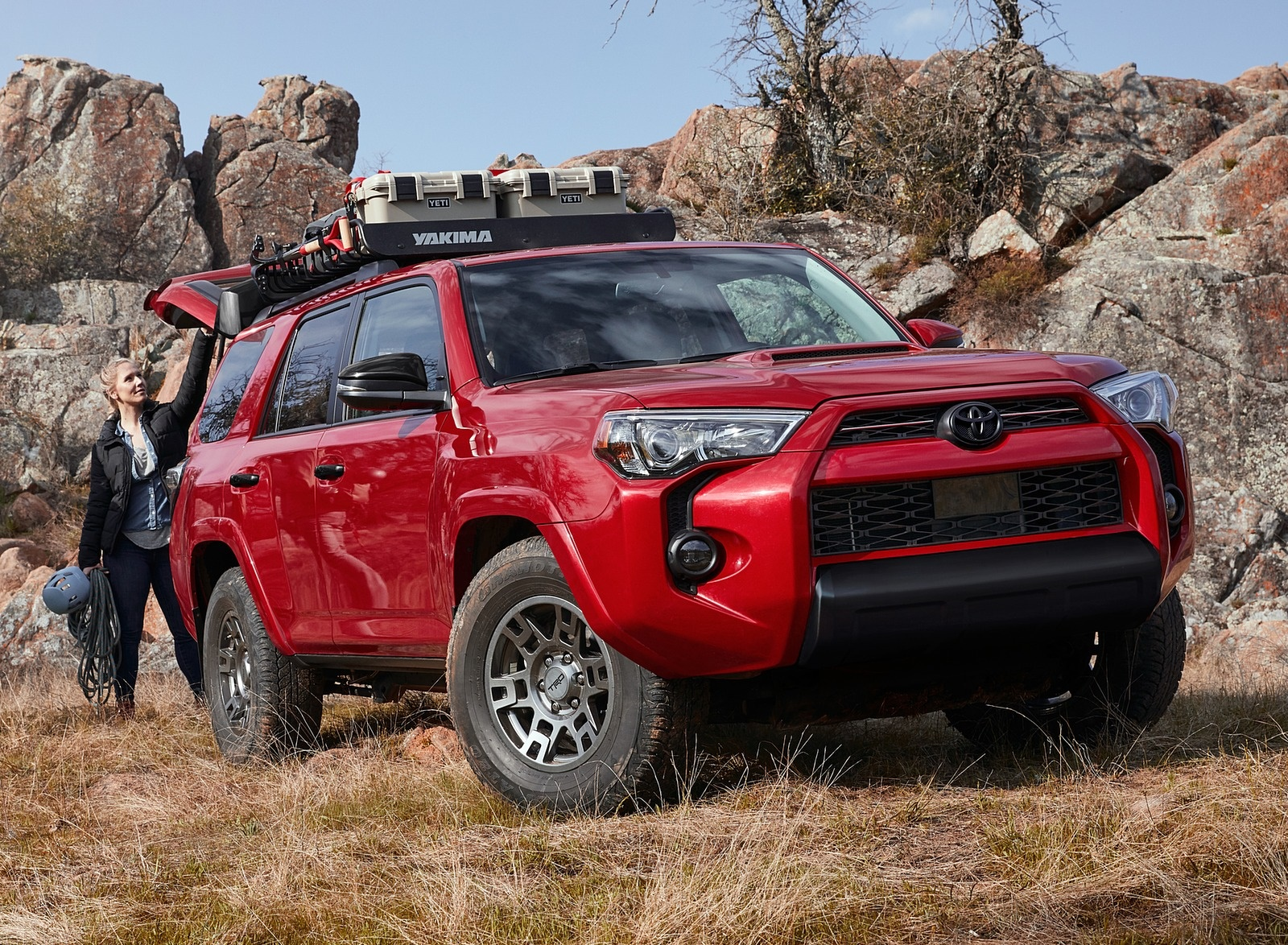 2020 Toyota 4Runner Venture Edition Front Three-Quarter Wallpapers (4)