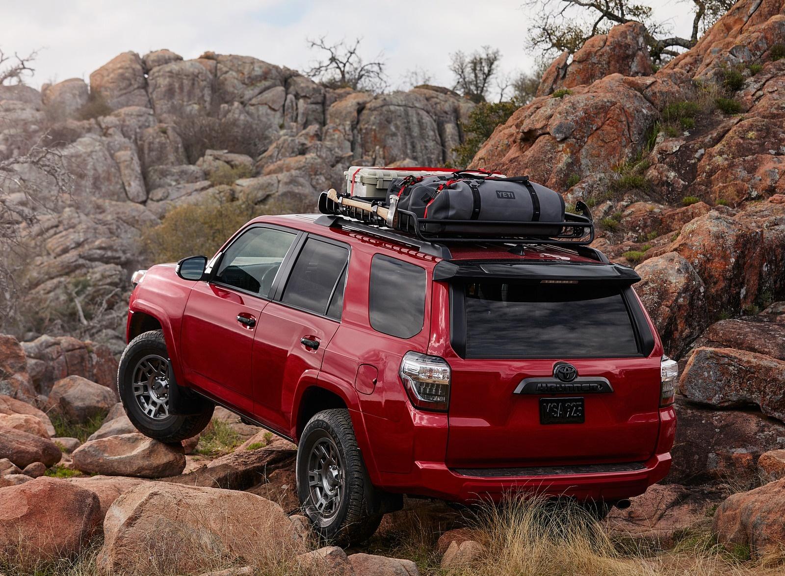 2020 Toyota 4Runner Venture Edition Rear Three-Quarter Wallpapers (6)