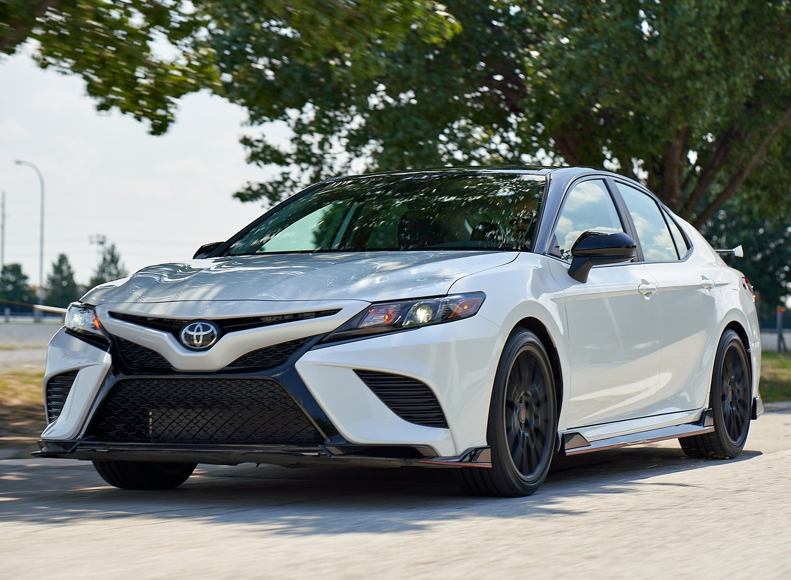 2020 Toyota Camry TRD Front Three-Quarter Wallpapers (7)