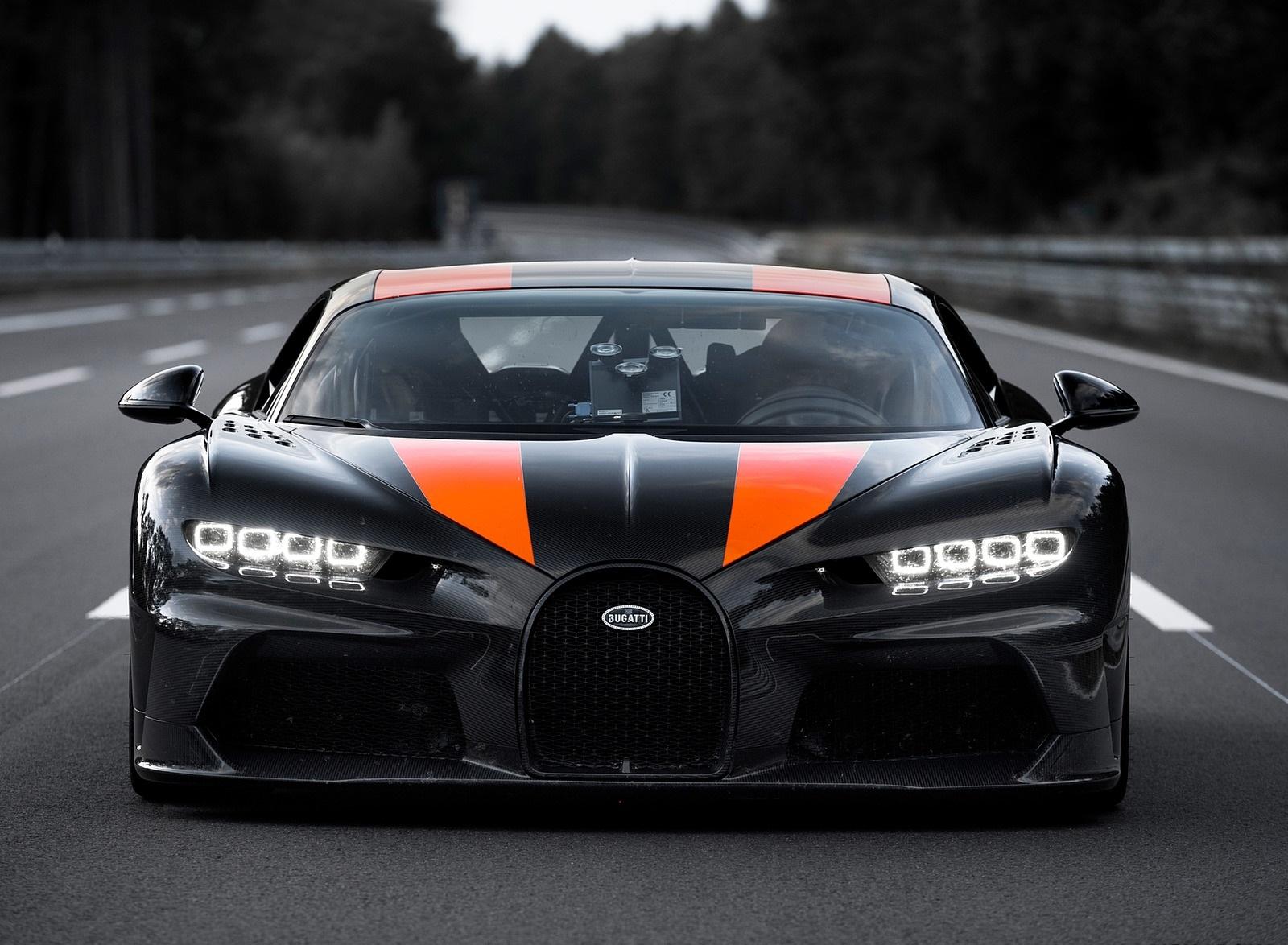 2021 Bugatti Chiron Super Sport 300+ Front Wallpapers (10)