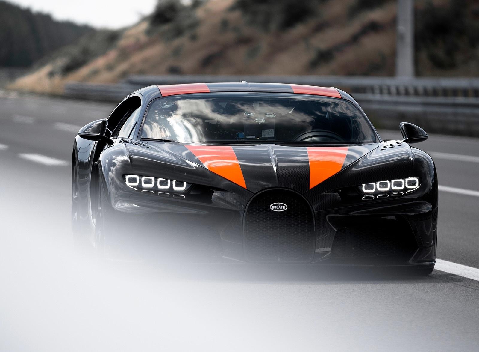 2021 Bugatti Chiron Super Sport 300+ Front Wallpapers (4)