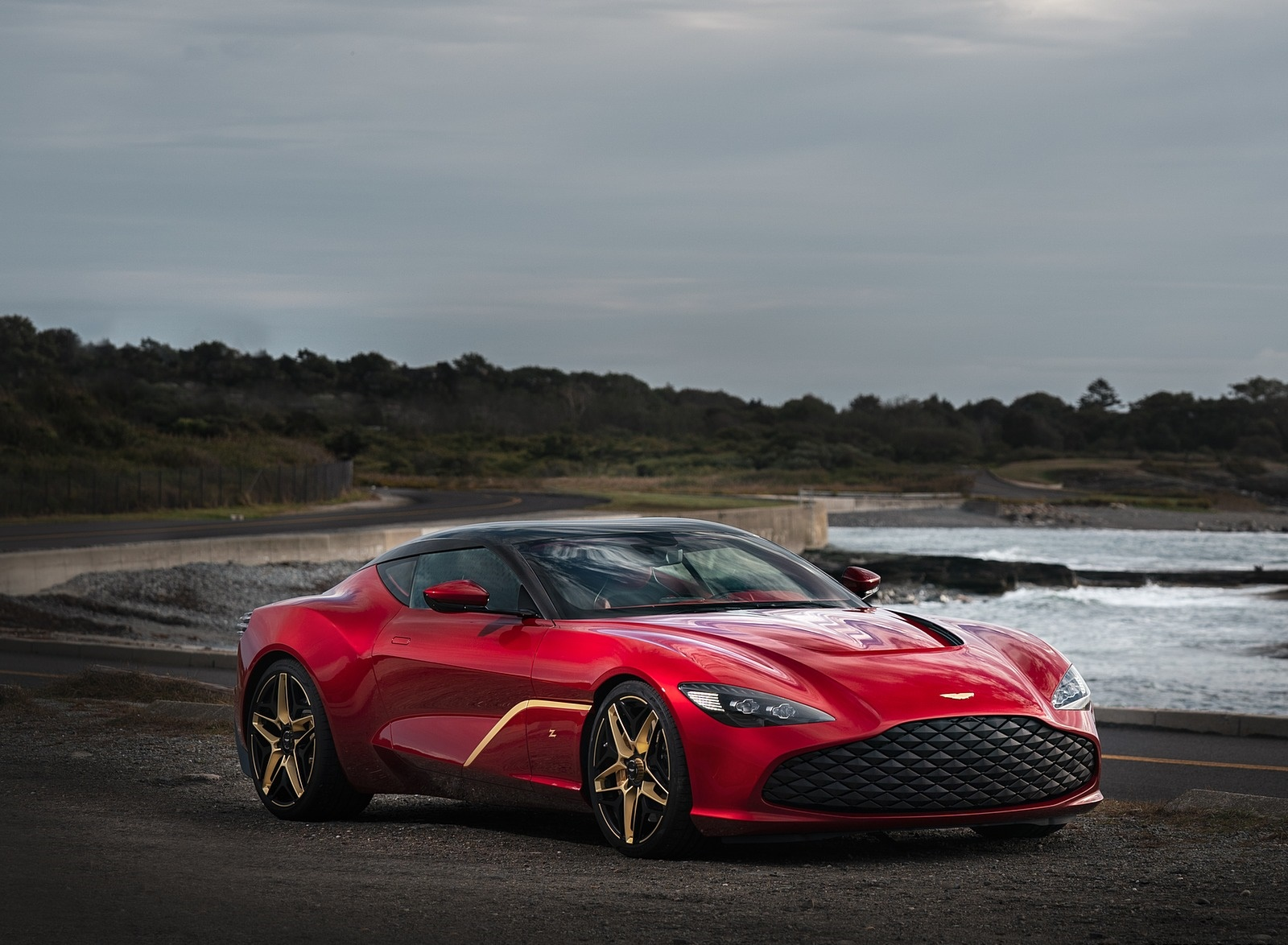 2020 Aston Martin DBS GT Zagato Front Three-Quarter Wallpapers (1)