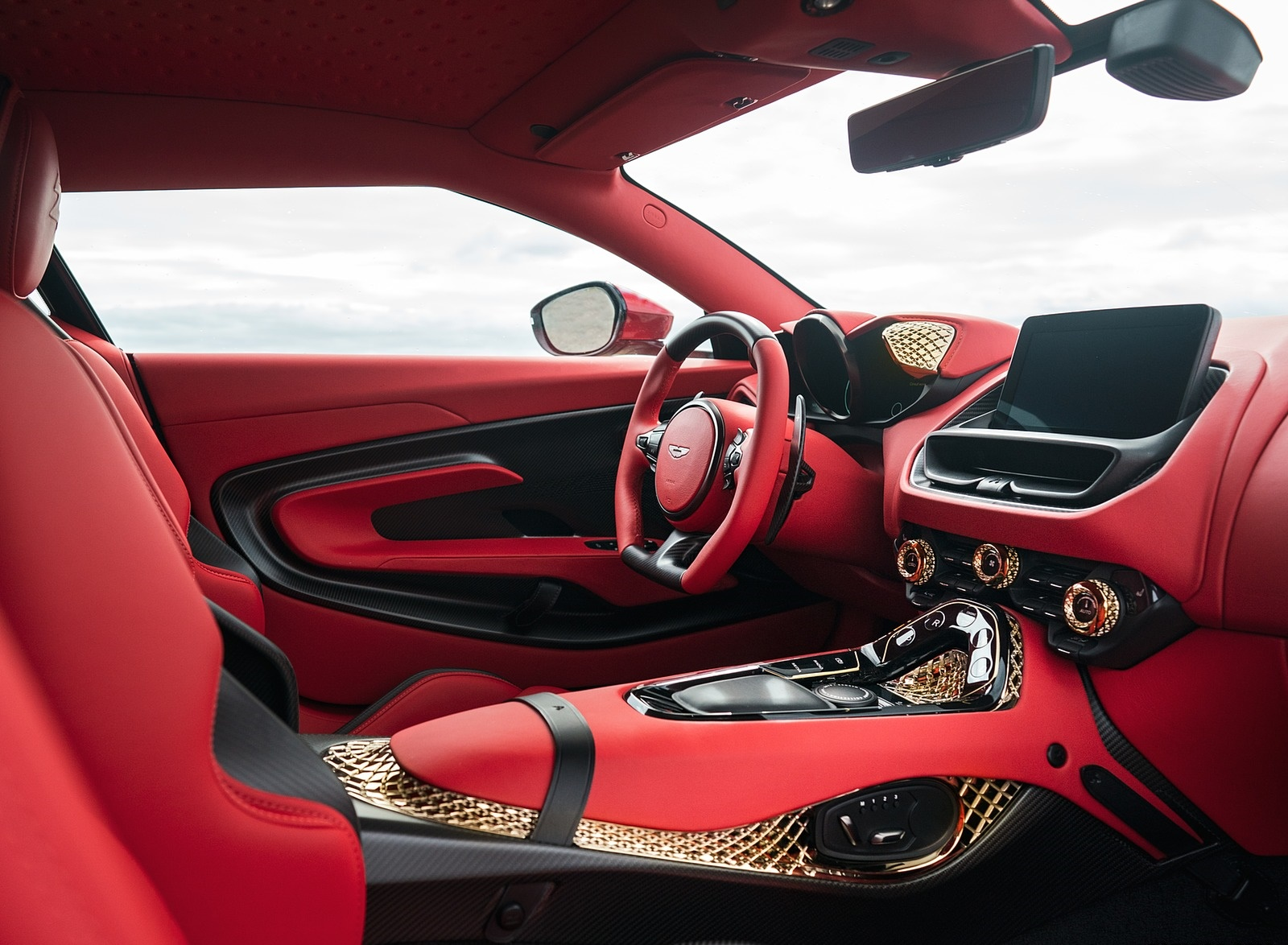 2020 Aston Martin Dbs Gt Zagato Interior Wallpapers 17 Newcarcars