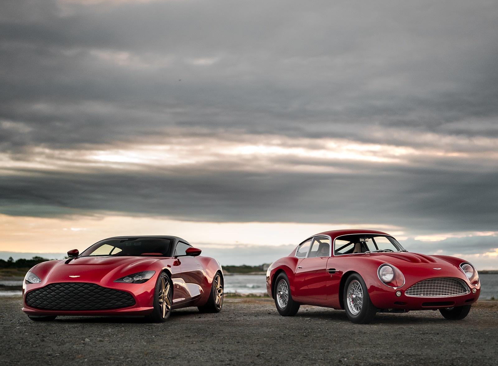 2020 Aston Martin DBS GT Zagato and DB4 GT Zagato Continuation Wallpapers (5)