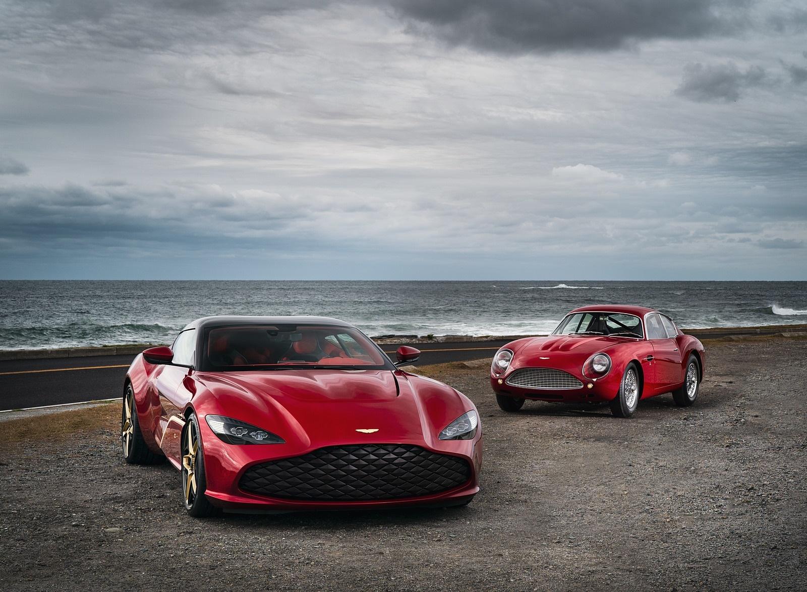 2020 Aston Martin DBS GT Zagato and DB4 GT Zagato Continuation Wallpapers (6)