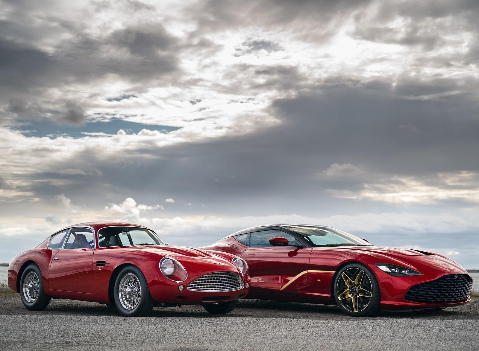 2020 Aston Martin DBS GT Zagato and DB4 GT Zagato Continuation Wallpapers (7)
