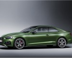2020 Audi A5 Coupe (Color: District Green) Front Three-Quarter Wallpapers 150x120 (19)