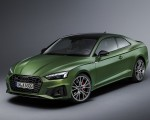 2020 Audi A5 Coupe (Color: District Green) Front Three-Quarter Wallpapers 150x120 (18)
