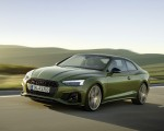 2020 Audi A5 Coupe (Color: District Green) Front Three-Quarter Wallpapers 150x120 (1)