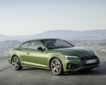 2020 Audi A5 Coupe (Color: District Green) Front Three-Quarter Wallpapers 150x120 (11)