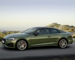 2020 Audi A5 Coupe (Color: District Green) Front Three-Quarter Wallpapers 150x120 (2)