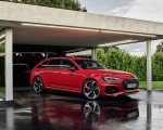 2020 Audi RS 4 Avant (Color: Tango Red) Front Three-Quarter Wallpapers 150x120 (22)