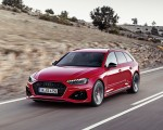 2020 Audi RS 4 Avant (Color: Tango Red) Front Three-Quarter Wallpapers 150x120 (4)