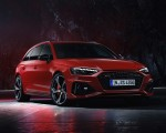 2020 Audi RS 4 Avant (Color: Tango Red) Front Wallpapers 150x120 (32)