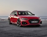 2020 Audi RS 4 Avant (Color: Tango Red) Front Wallpapers 150x120 (13)