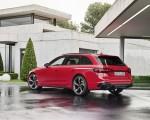 2020 Audi RS 4 Avant (Color: Tango Red) Rear Three-Quarter Wallpapers 150x120 (26)