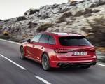 2020 Audi RS 4 Avant (Color: Tango Red) Rear Three-Quarter Wallpapers 150x120 (6)