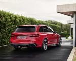 2020 Audi RS 4 Avant (Color: Tango Red) Rear Three-Quarter Wallpapers 150x120 (27)