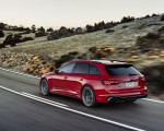 2020 Audi RS 4 Avant (Color: Tango Red) Rear Three-Quarter Wallpapers 150x120 (7)
