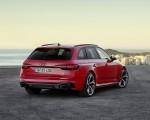 2020 Audi RS 4 Avant (Color: Tango Red) Rear Three-Quarter Wallpapers 150x120 (15)