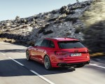 2020 Audi RS 4 Avant (Color: Tango Red) Rear Three-Quarter Wallpapers 150x120 (8)