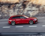2020 Audi RS 4 Avant (Color: Tango Red) Side Wallpapers 150x120 (10)