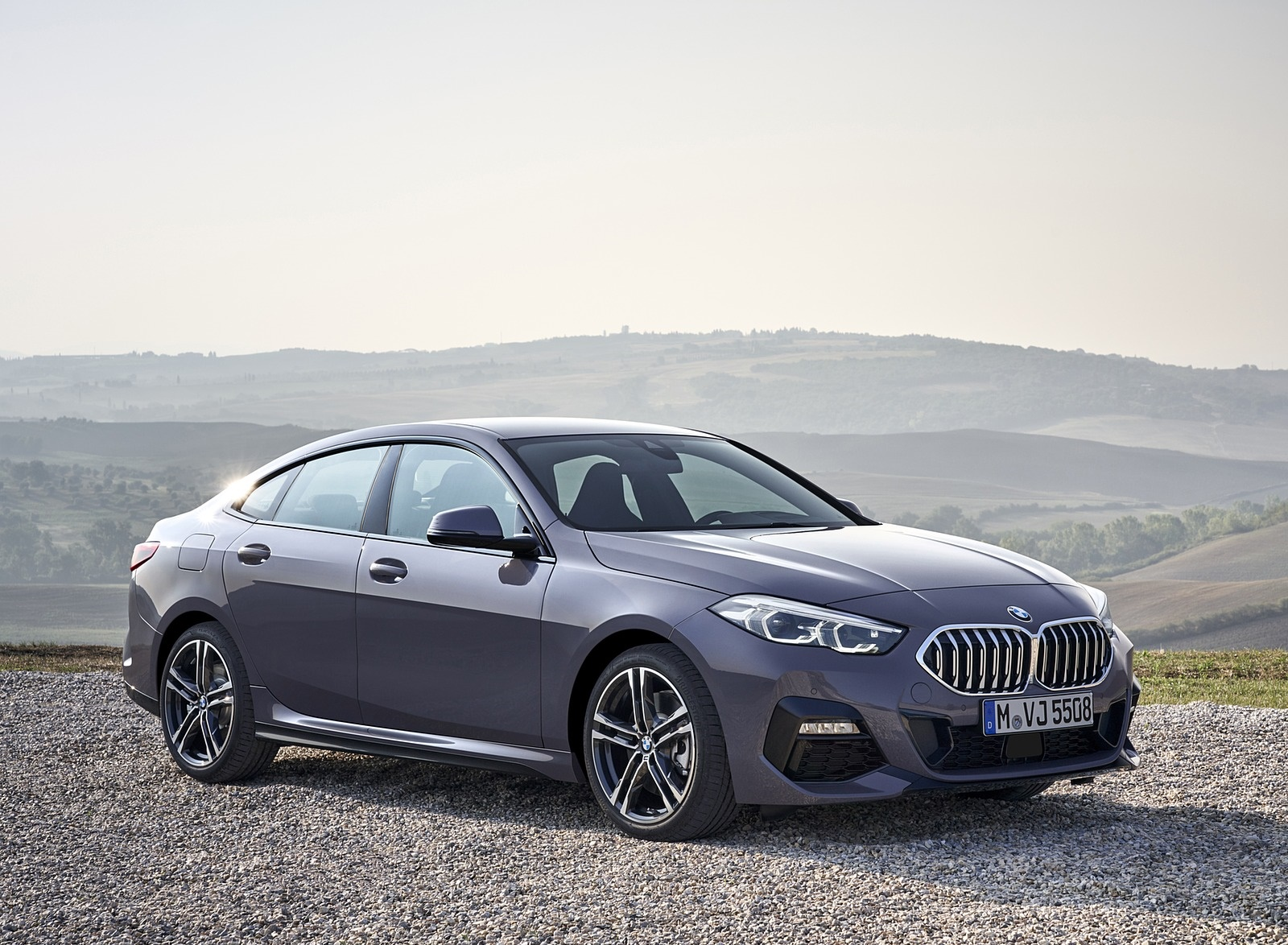 2020 BMW 2 Series 220d Gran Coupe M Sport (Color: Storm Bay Metallic) Front Three-Quarter Wallpapers (13)