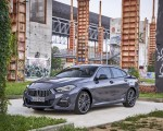 2020 BMW 2 Series 220d Gran Coupe M Sport (Color: Storm Bay Metallic) Front Three-Quarter Wallpapers 150x120 (14)