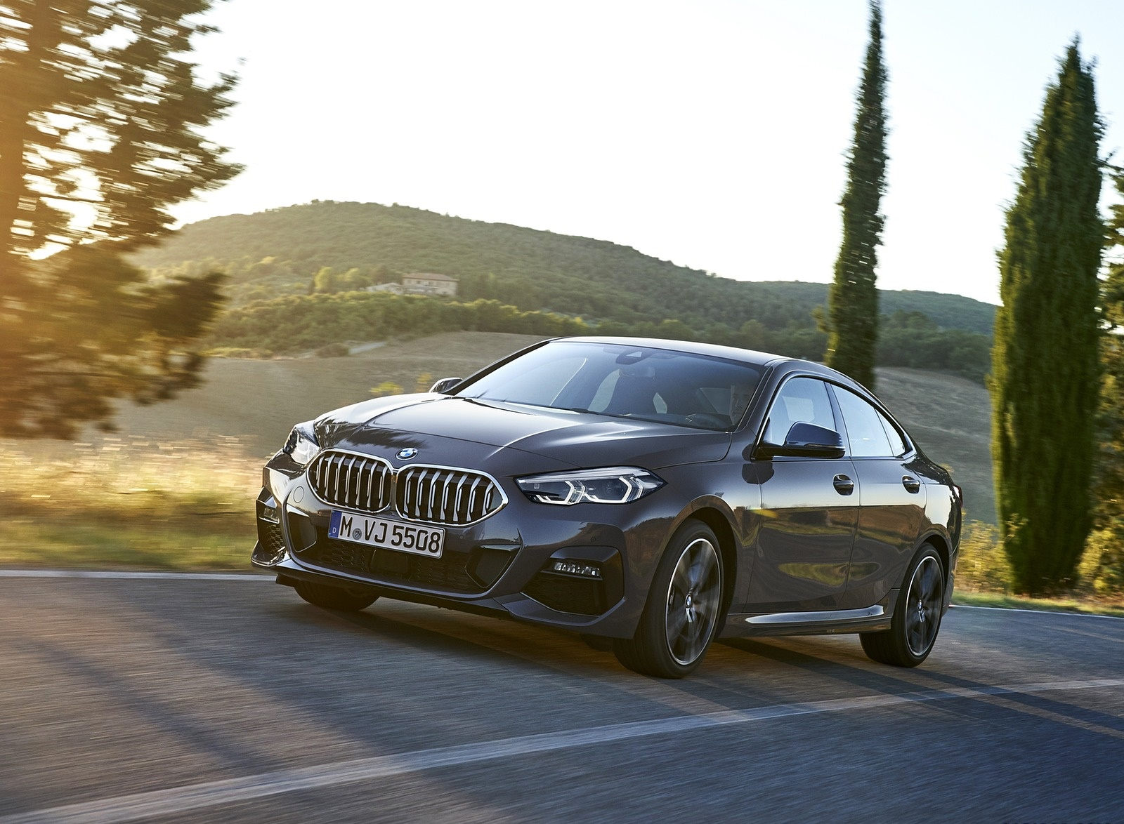 2020 BMW 2 Series 220d Gran Coupe M Sport (Color: Storm Bay Metallic) Front Three-Quarter Wallpapers (3)