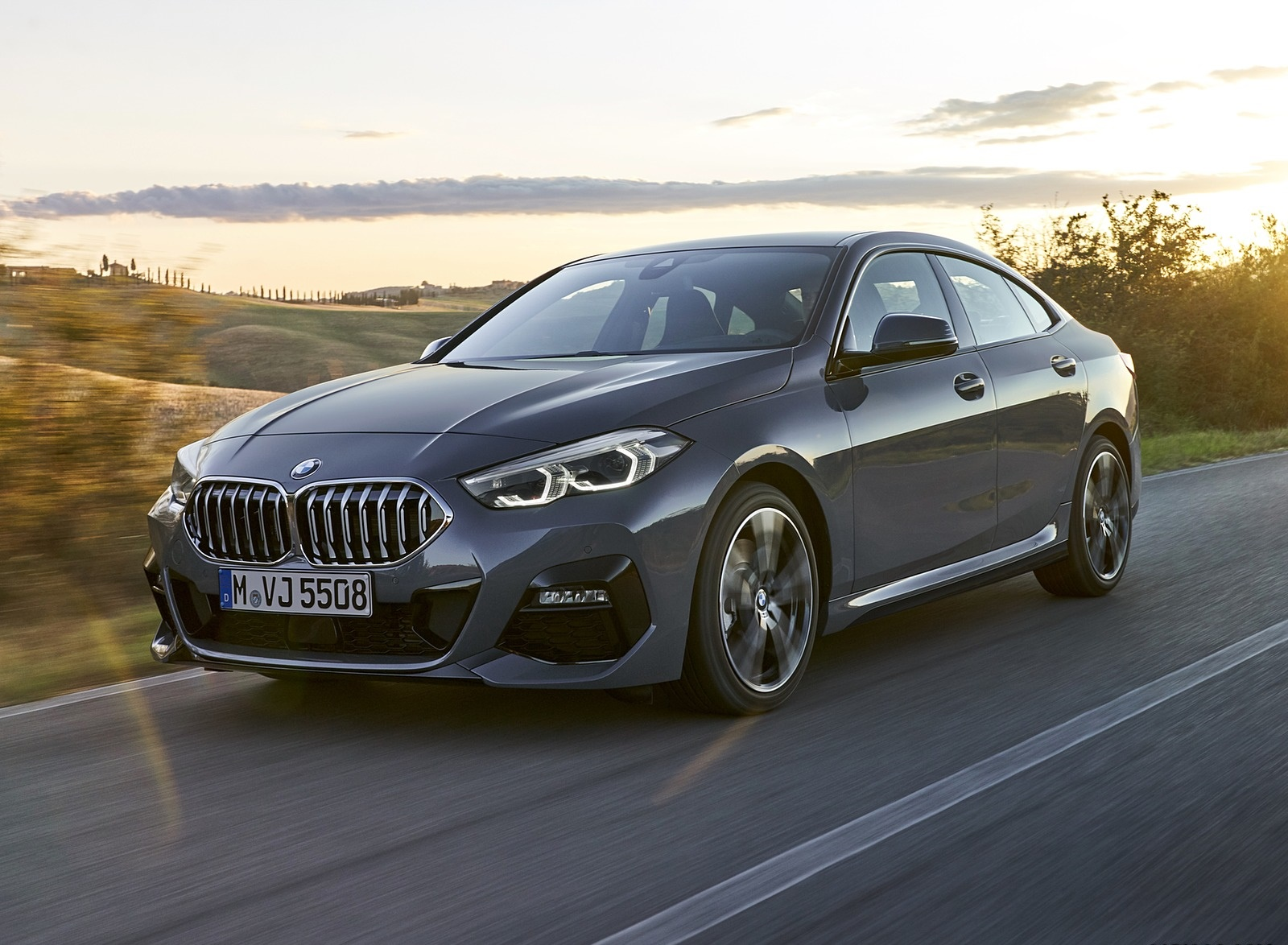 2020 BMW 2 Series 220d Gran Coupe M Sport (Color: Storm Bay Metallic) Front Three-Quarter Wallpapers (5)