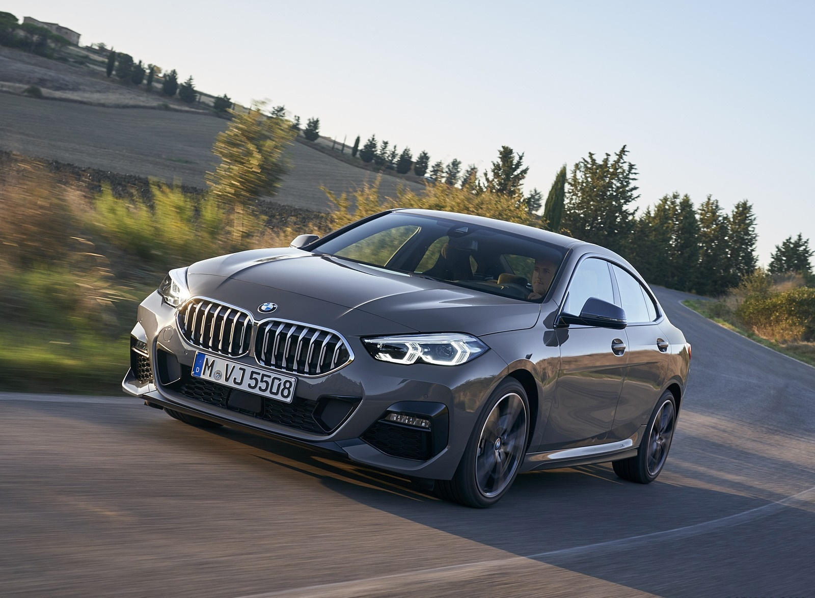 2020 BMW 2 Series 220d Gran Coupe M Sport (Color: Storm Bay Metallic) Front Three-Quarter Wallpapers (1)