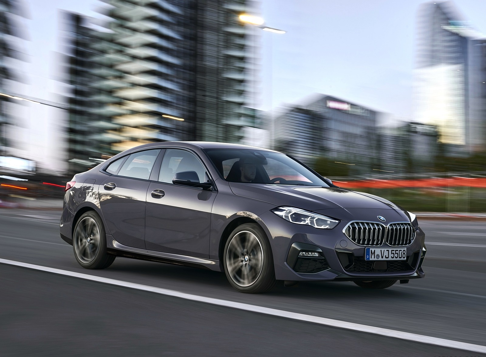 2020 BMW 2 Series 220d Gran Coupe M Sport (Color: Storm Bay Metallic) Front Three-Quarter Wallpapers (8)