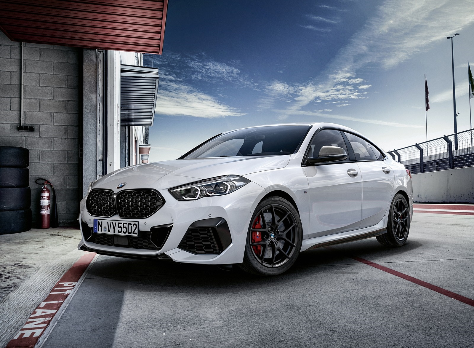 2020 BMW 2 Series Gran Coupe with M Performance Parts Front Three-Quarter Wallpapers (1)