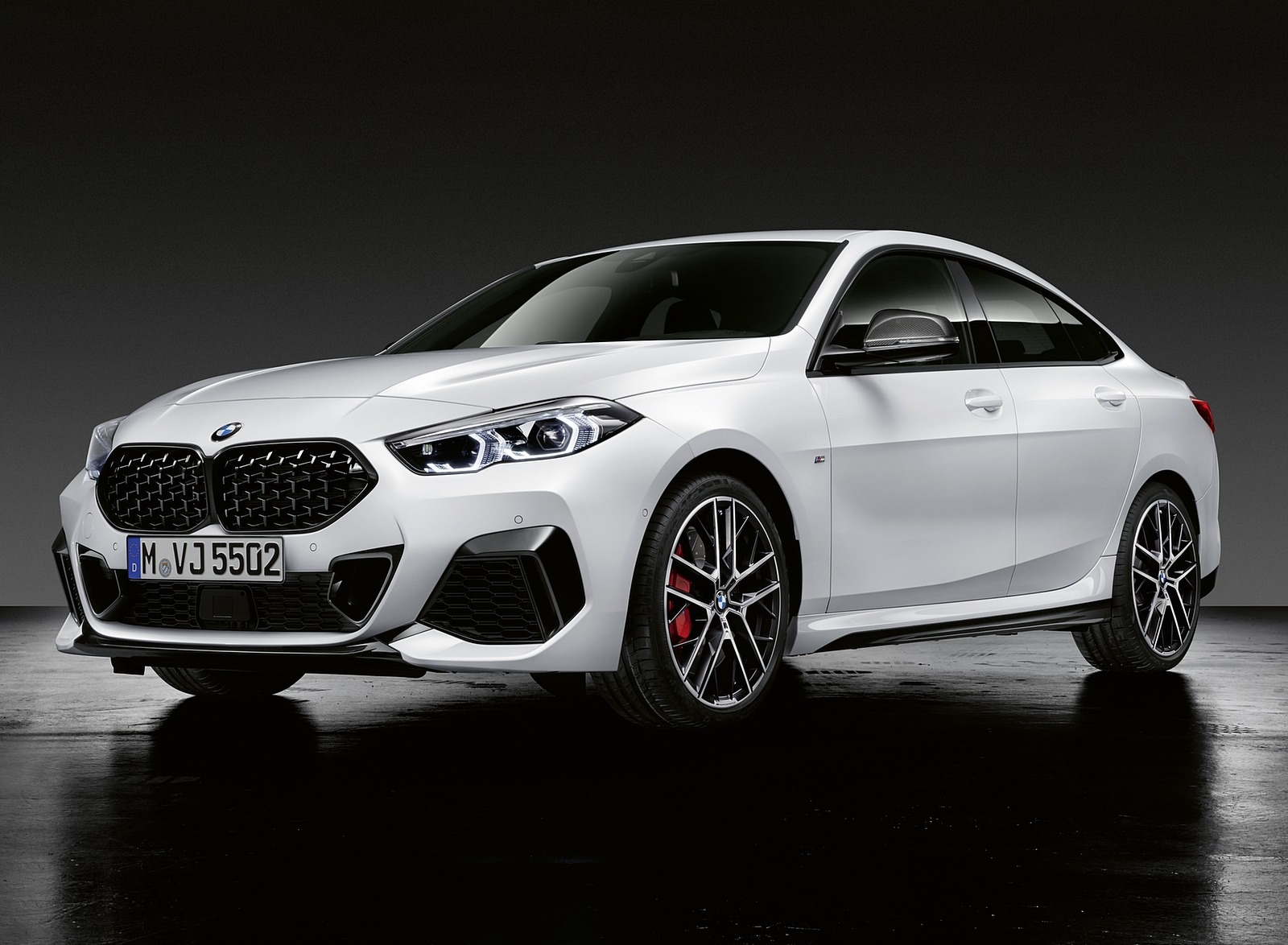 2020 BMW 2 Series Gran Coupe with M Performance Parts Front Three-Quarter Wallpapers (4)