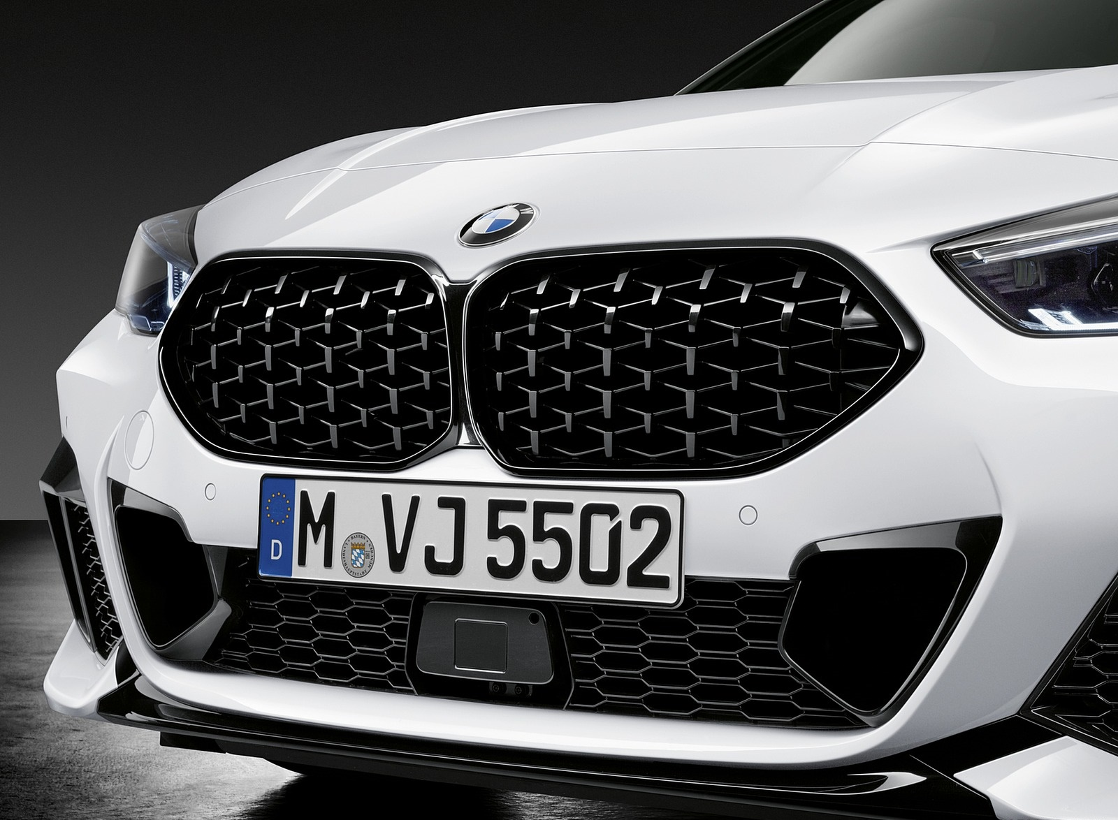2020 BMW 2 Series Gran Coupe with M Performance Parts Grill Wallpapers (5)