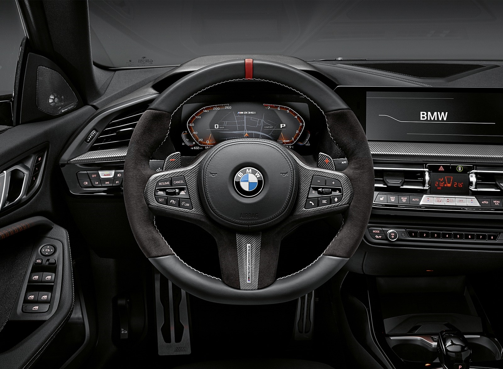 2020 BMW 2 Series Gran Coupe with M Performance Parts Interior Wallpapers (12)