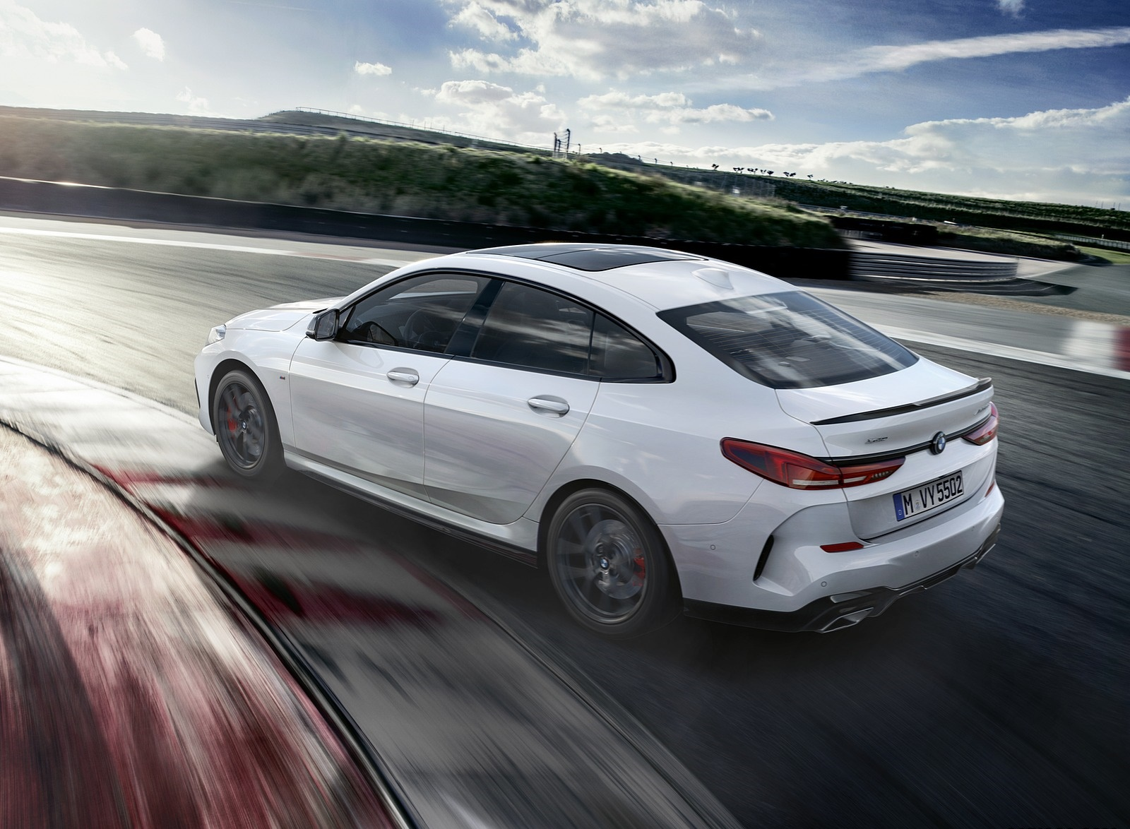 2020 BMW 2 Series Gran Coupe with M Performance Parts Rear Three-Quarter Wallpapers (2)