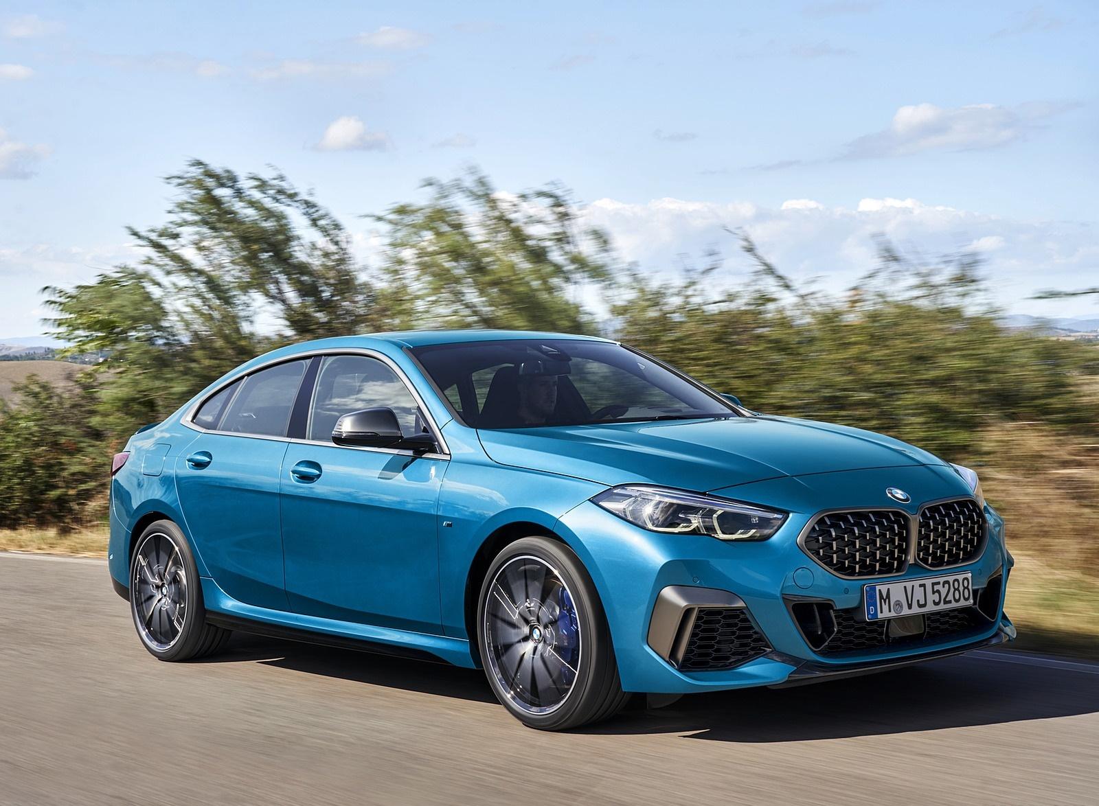2020 BMW M235i Gran Coupe xDrive (Color: Snapper Rocks Blue Metallic) Front Three-Quarter Wallpapers (11)