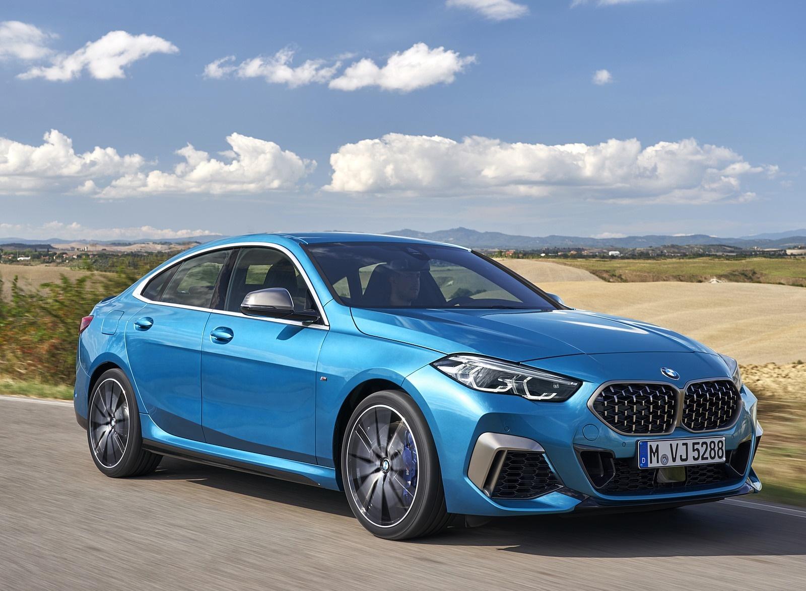2020 BMW M235i Gran Coupe xDrive (Color: Snapper Rocks Blue Metallic) Front Three-Quarter Wallpapers (12)