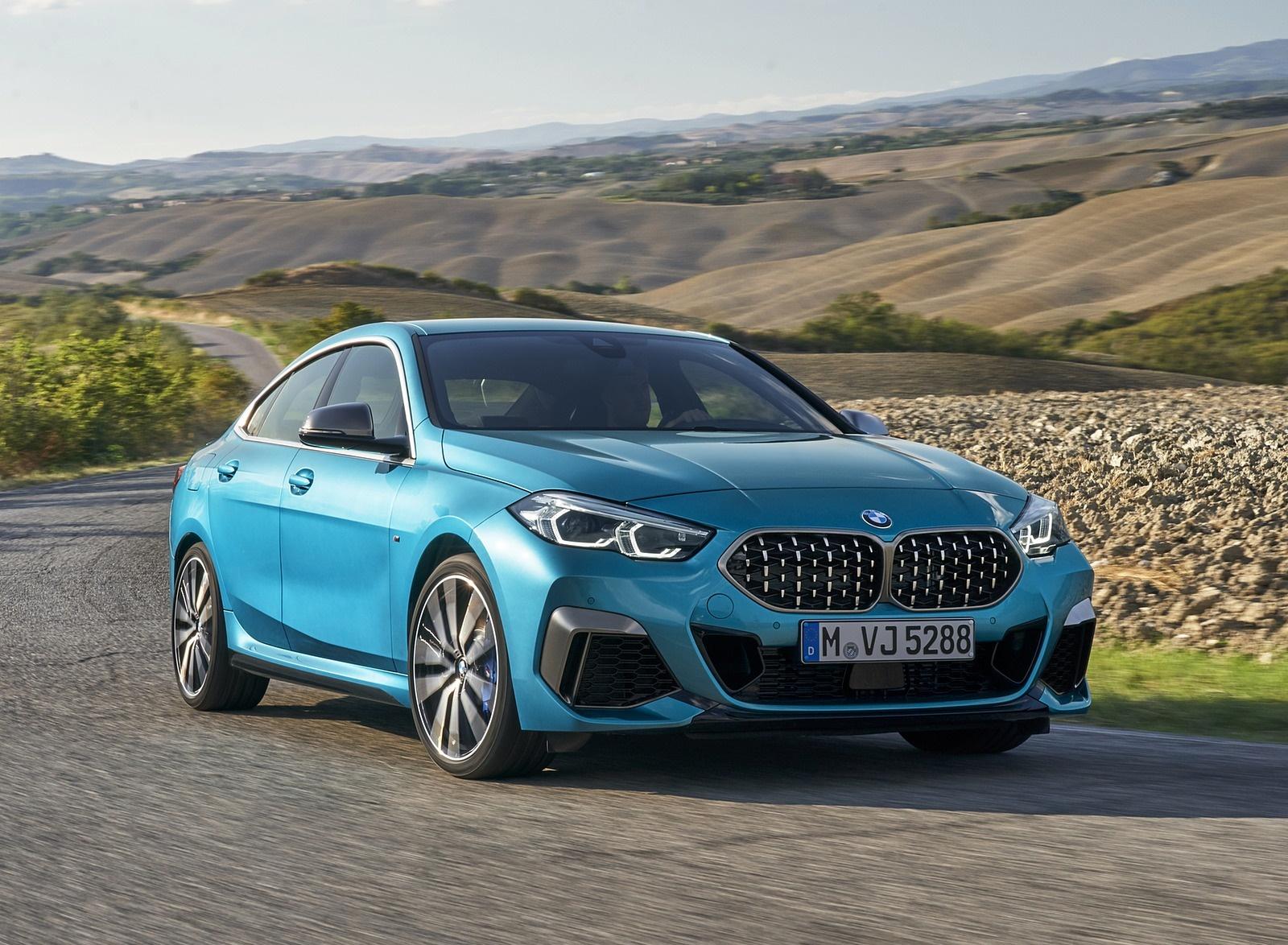 2020 BMW M235i Gran Coupe xDrive (Color: Snapper Rocks Blue Metallic) Front Three-Quarter Wallpapers (13)