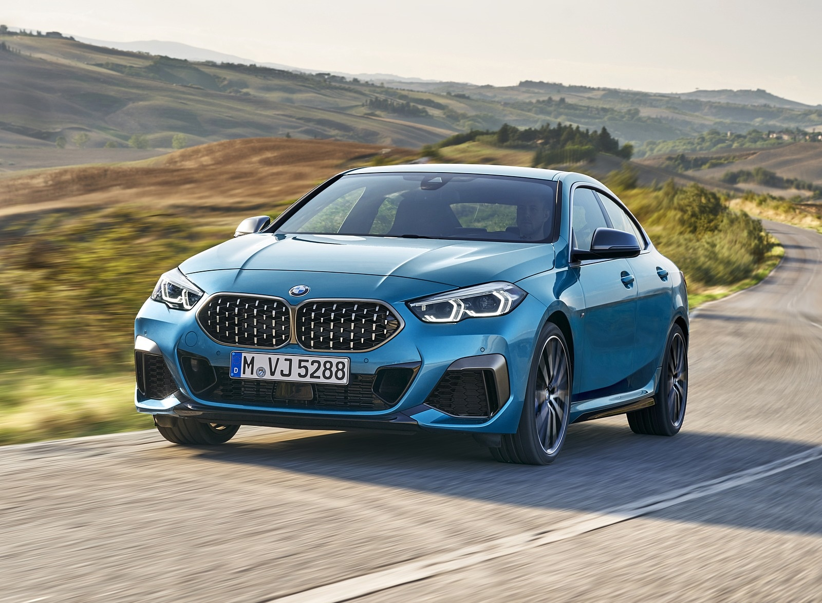 2020 BMW M235i Gran Coupe xDrive (Color: Snapper Rocks Blue Metallic) Front Wallpapers (14)