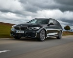 2020 BMW M340i xDrive Touring (Color: Black Sapphire Metallic) Front Three-Quarter Wallpapers 150x120 (19)