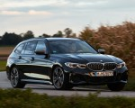 2020 BMW M340i xDrive Touring (Color: Black Sapphire Metallic) Front Three-Quarter Wallpapers 150x120 (13)